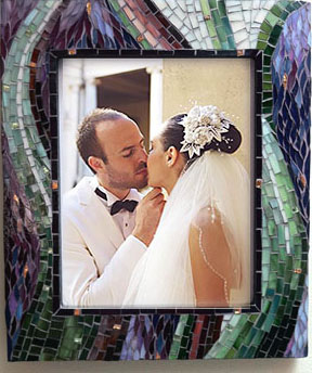 sierra gold photo frame with wedding foto image- Rochelle Cheever, wedding photographer