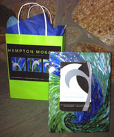 Peacock Swirl Mosaic Photo Frame w/ packaging