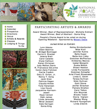 Participating Artists in 2011 National Mosaic Exhibition on Cape Cod, MA