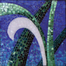Vine Trilogy Mosaic - right panel